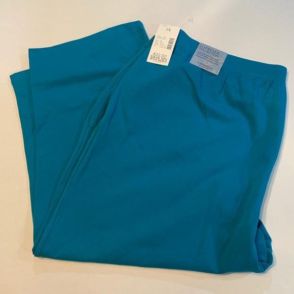 Catherines Pants - Catherines Women's Suprema Cotton Capris!  BNWT!!